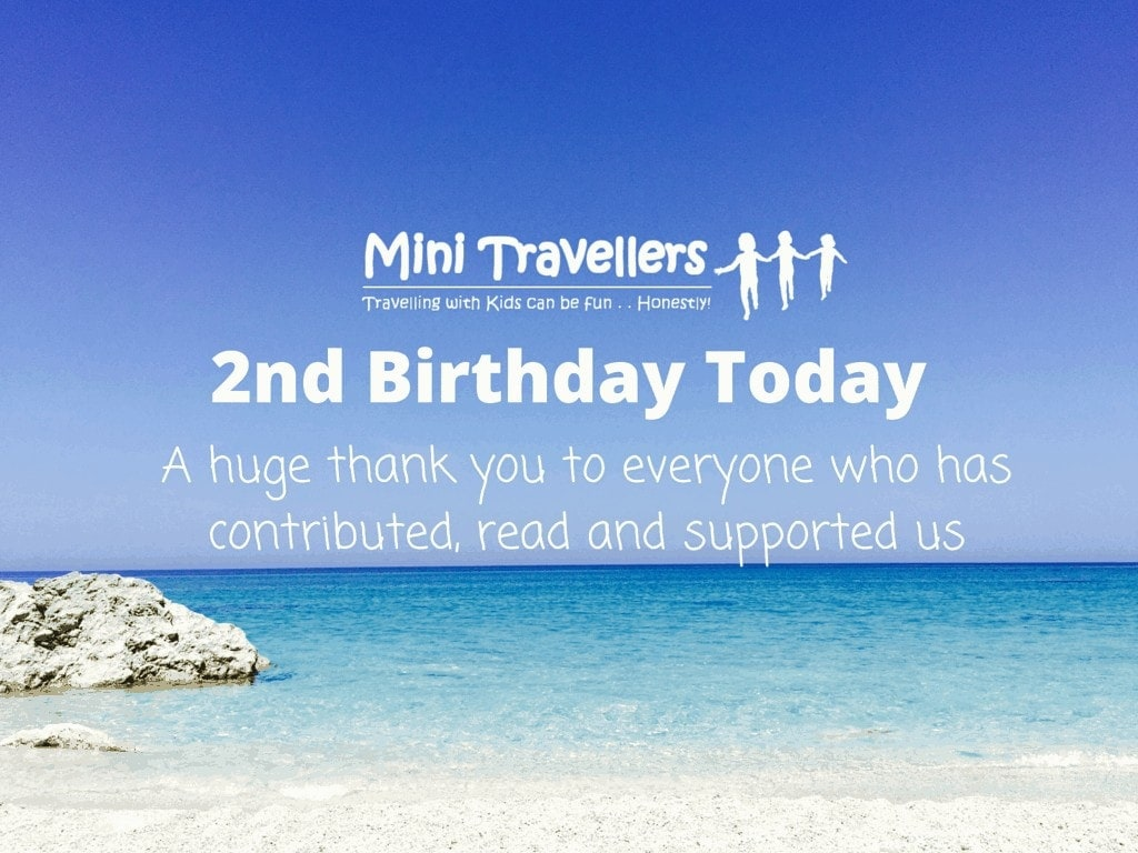 Mini Travellers is Two Today!
