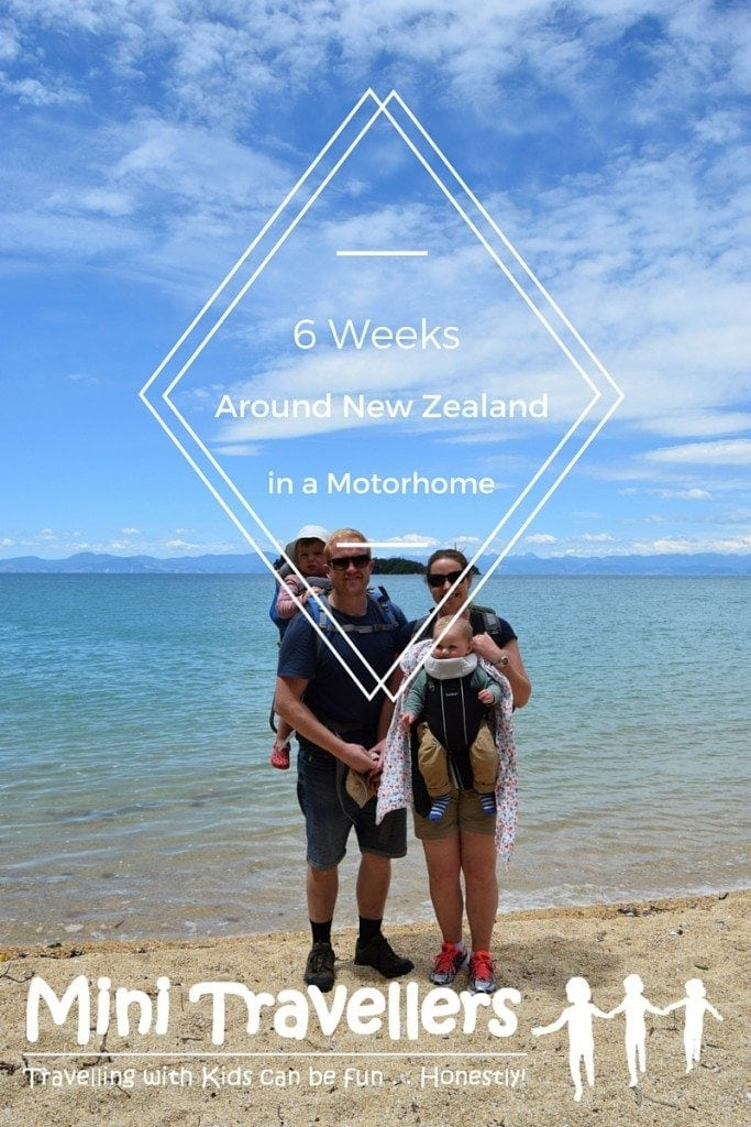 6 weeks in New Zealand in a Motor Home