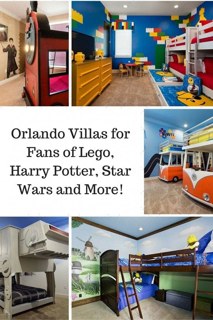Orland Villas for Fans of Lego, Harry Potter, Star Wars and More!