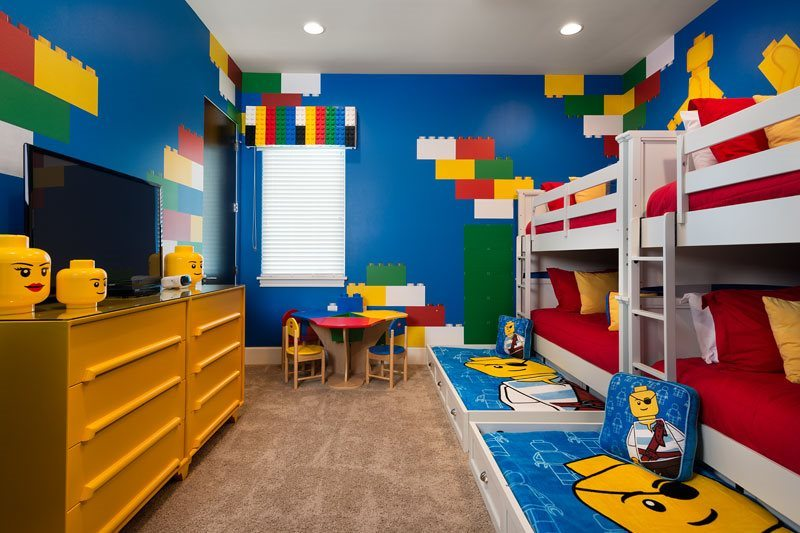 detached garage interior ideas - Orlando Villas for Lovers of Star Wars Lego Harry Potter