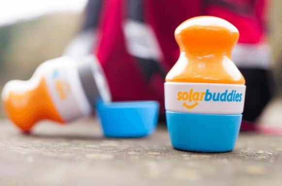 Travel Tips: Solar Buddies roll-on, mess free and reusable sunscreen applicators | Child Friendly Sun Cream