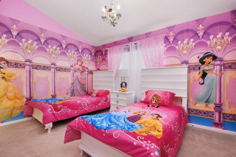 Villas Fit for a Princess near Disney