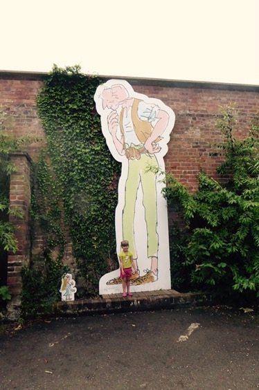 Roald Dahl tremendous Adventures at Tatton Park