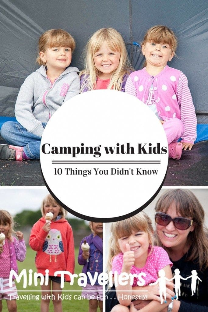 Camping with Kids - 10 Things You Didn't know