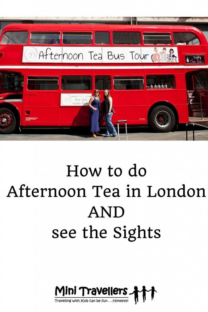 BB Afternoon Tea Bus Tour London