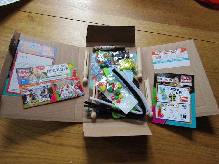 Mister Maker Craft Boxes