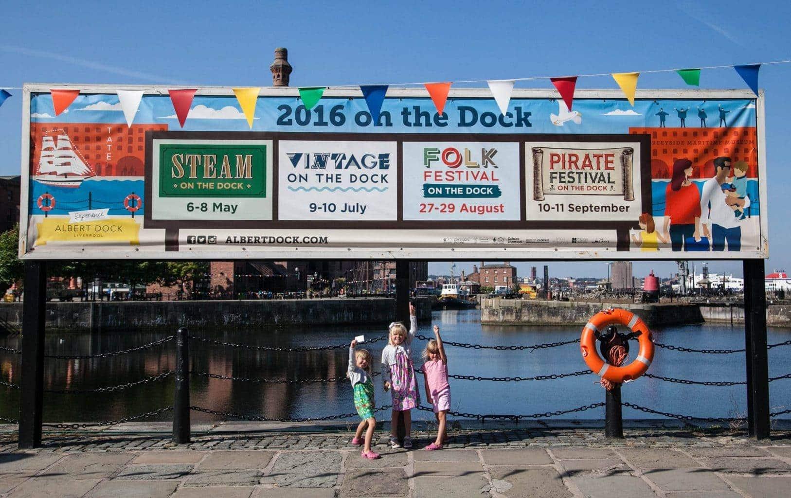 Albert Dock, Liverpool – Summer on the Dock