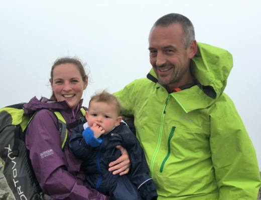 What to Pack to Tackle a Mountain with a Baby!