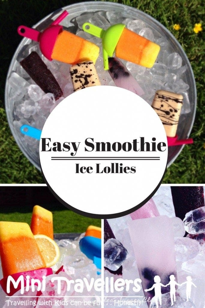 Easy Smoothie Ice Lollies