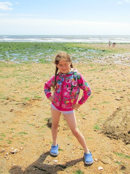 Family Day Out to Charmouth Beach