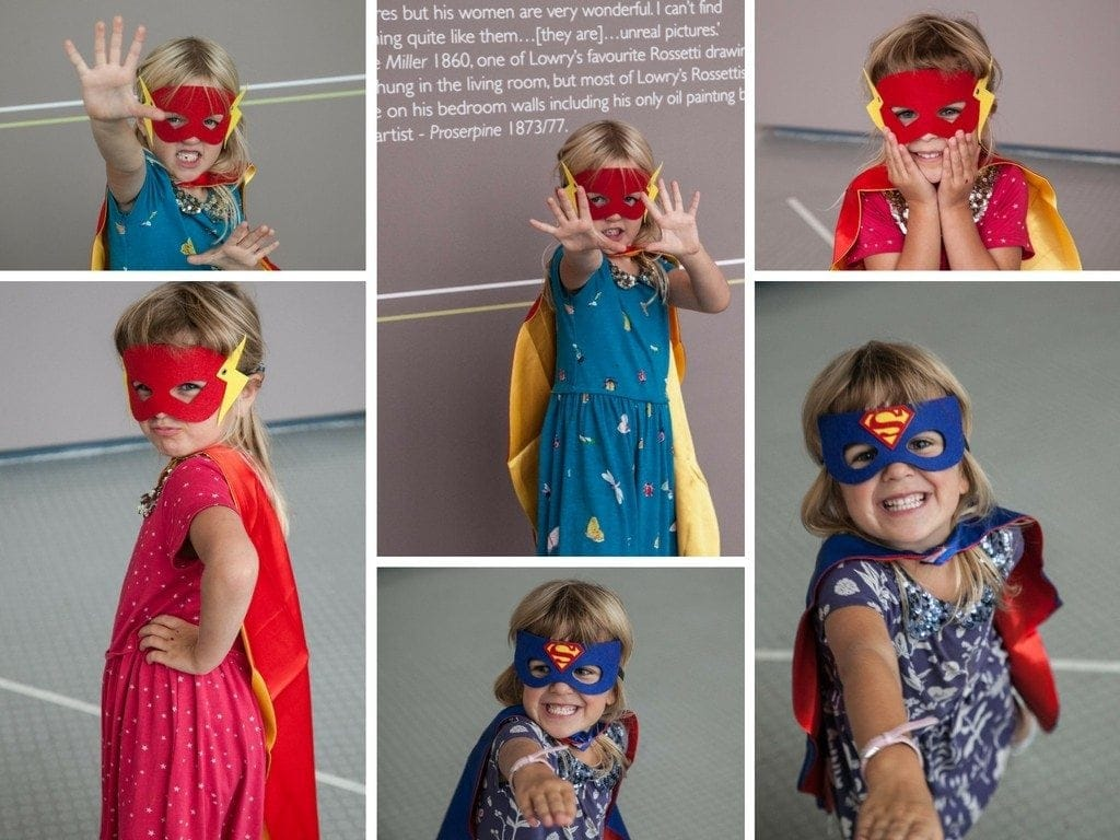 Super Heroes at The Lowry