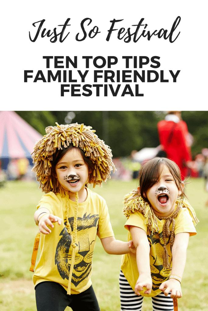 Just So Festival Cheshire UK Ten Top Tips Family Friendly Festival www.minitravellers.co.uk