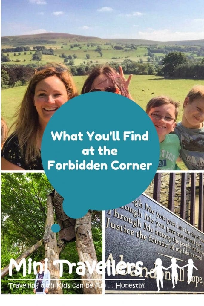 What You will find at the Forbidden Corner