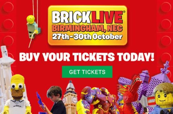 Brick Live 'Built for Lego Fans!'
