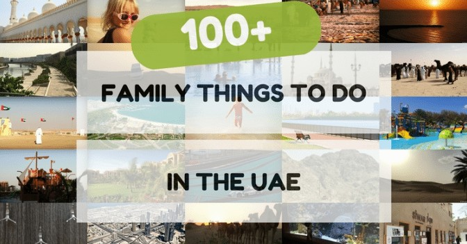 Seriously impressed with how many attractions there are to visit with kids in the UAE by Keri at Baby Globetrotters