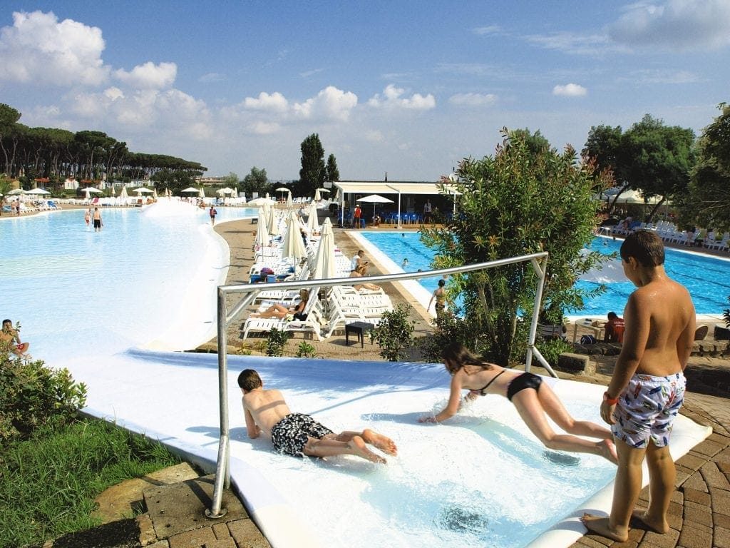Camping fabulous in rome with eurocamp mini travellers - Campsites in holland with swimming pool ...
