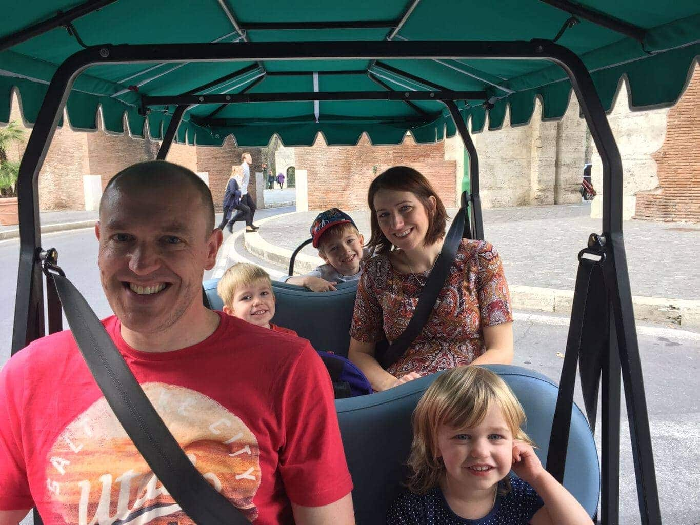 Eco City Tour in Rome with Kids; Angel Tours