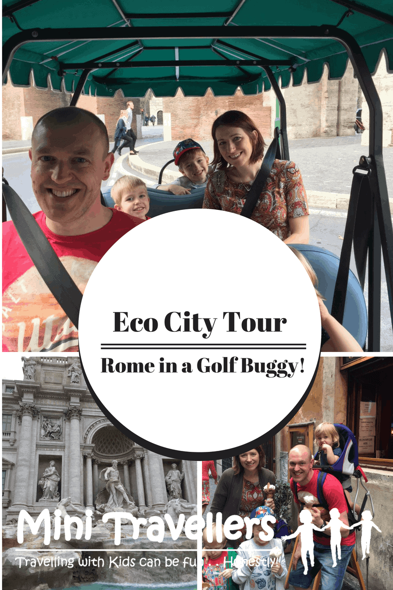 Eco City Tour in Rome with Kids; Angel Tours www.minitravellers.co.uk