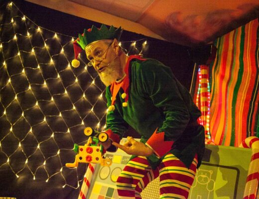 The Elf Adventure Challenge at Cheshire Ice Cream Farm www.minitravellers.co.uk
