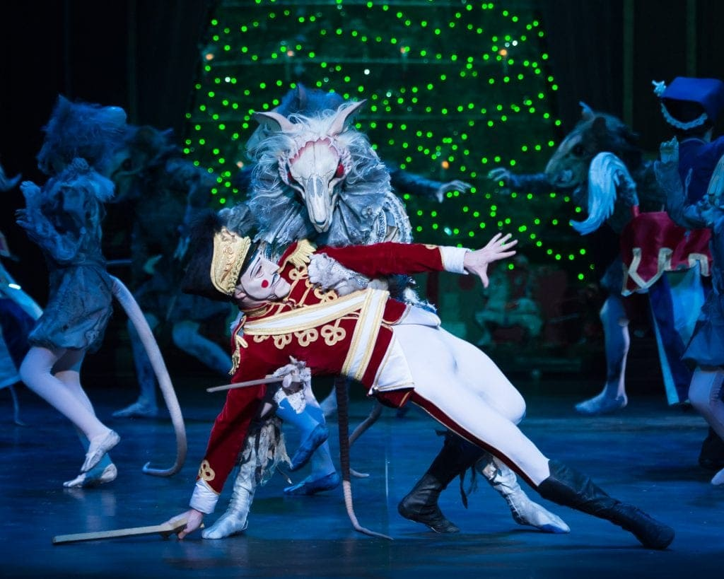 during English National Ballet's dress rehearsal of the Nutcracker