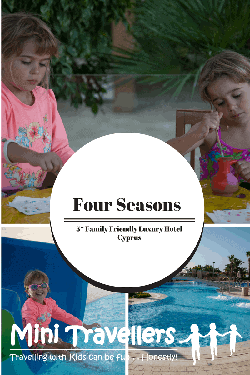 Four Seasons Limassol Cyprus 5* Family Friendly Luxury Hotel www.minitravellers.co.uk
