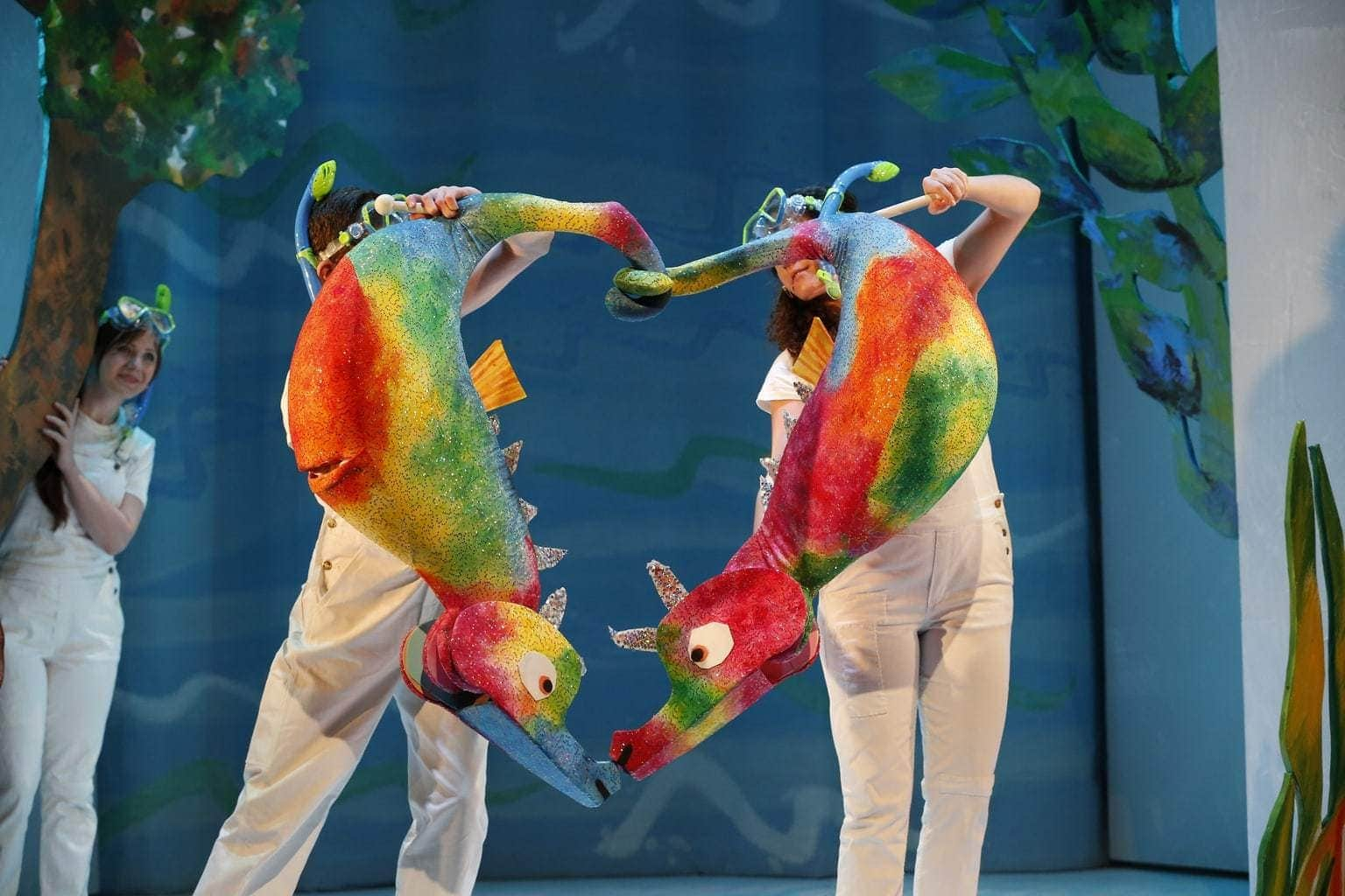 The Very Hungry Caterpillar - The 2016 New York cast. Photo by Carol Rosegg..jpg