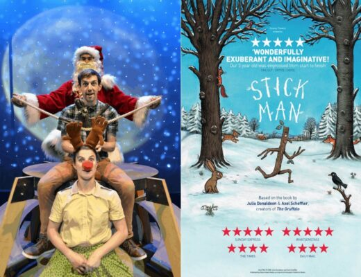 Stick Man is on in the West End www.minitravellers.co.uk