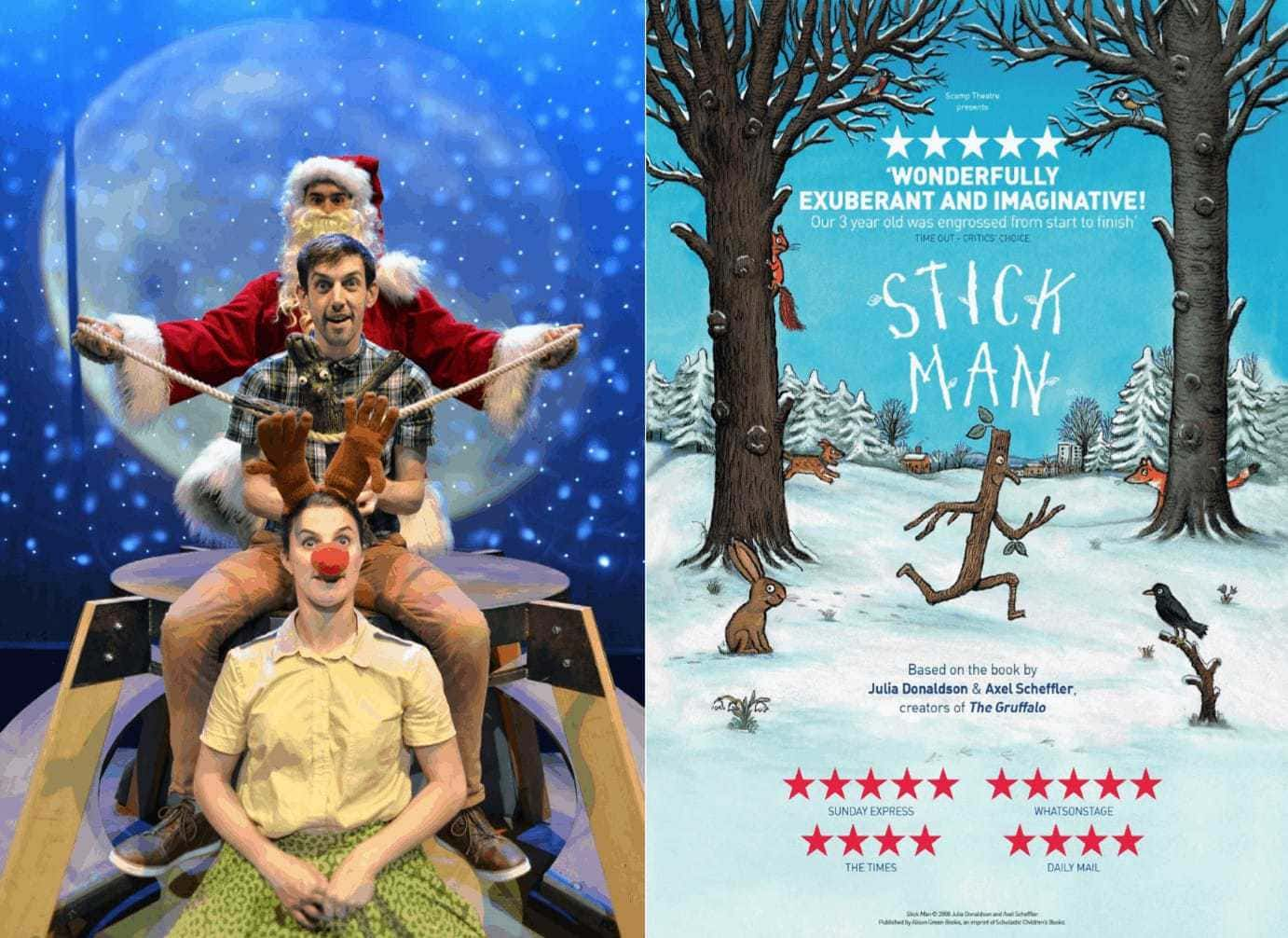 Stick Man is in the West End this Christmas 2016