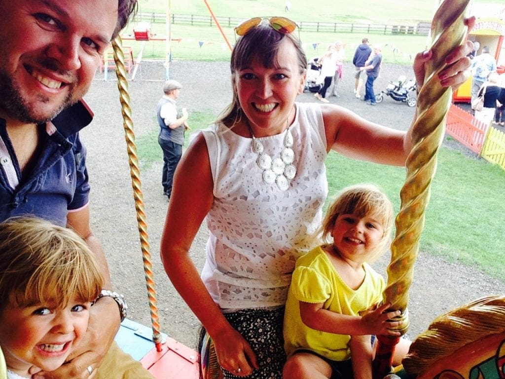 Beamish, Durham – Trams, Buses and even a Carousel
