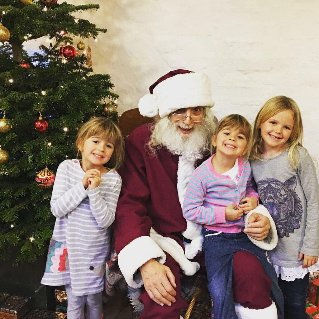 Breakfast with Father Christmas at Erddig National Trust www.minitravellers.co.uk