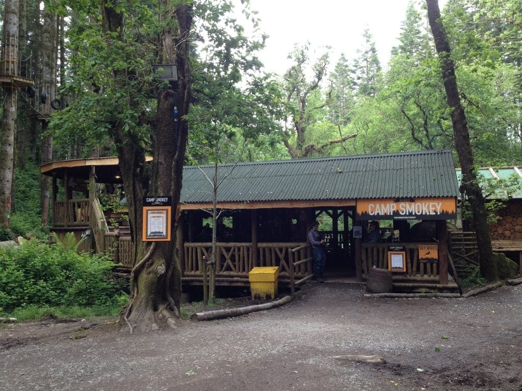 Camp Smokey is a great place to visit for Christmas at Bluestone National Park