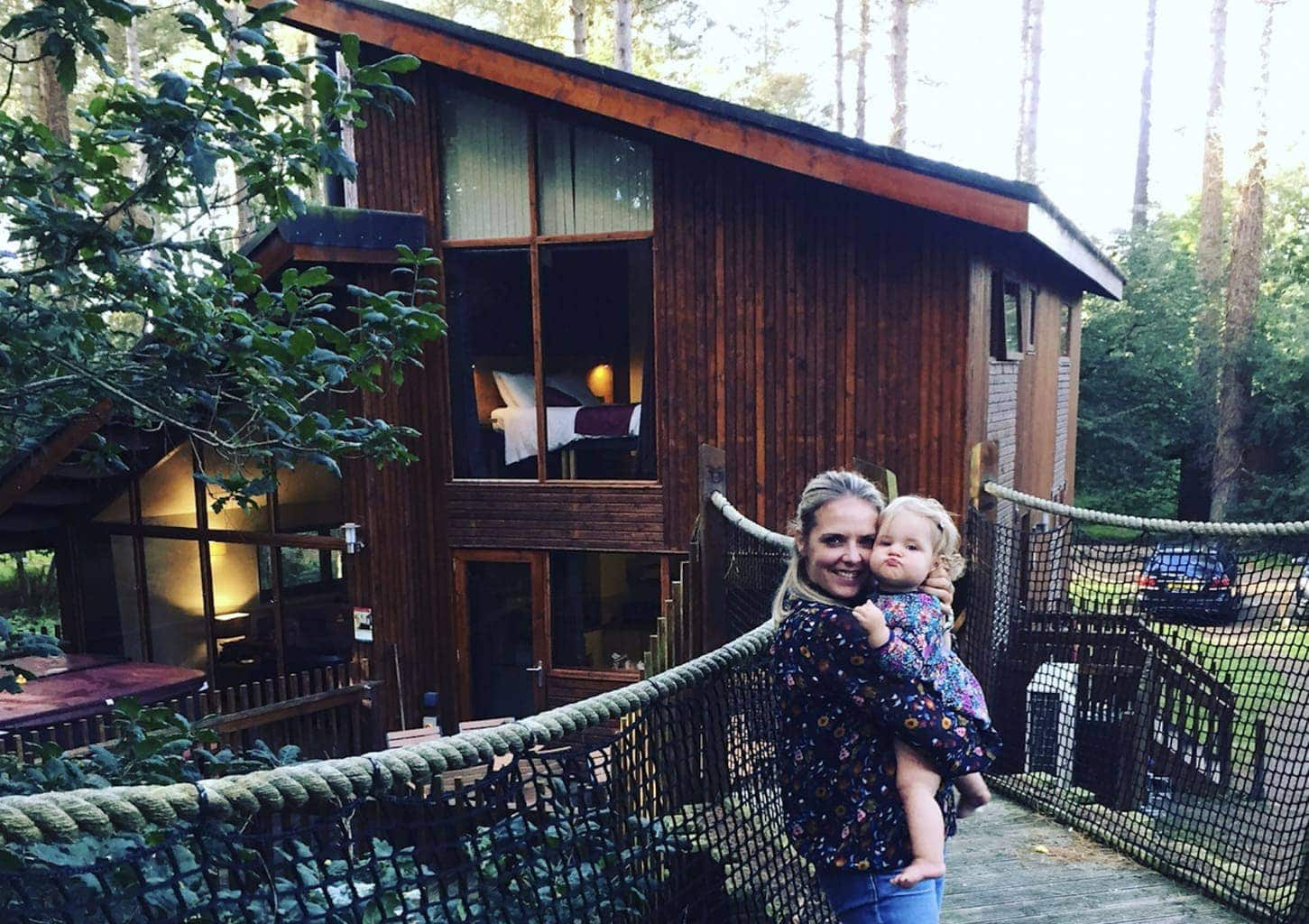 Treehouse Lodge with Forest Holidays