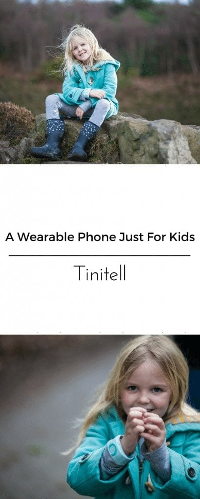 A wearable phone just for kids! www.minitravellers.co.uk