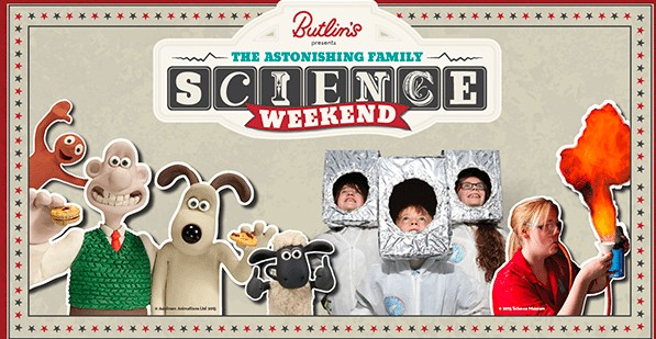Astonishing Family Science Weekend at Butlins