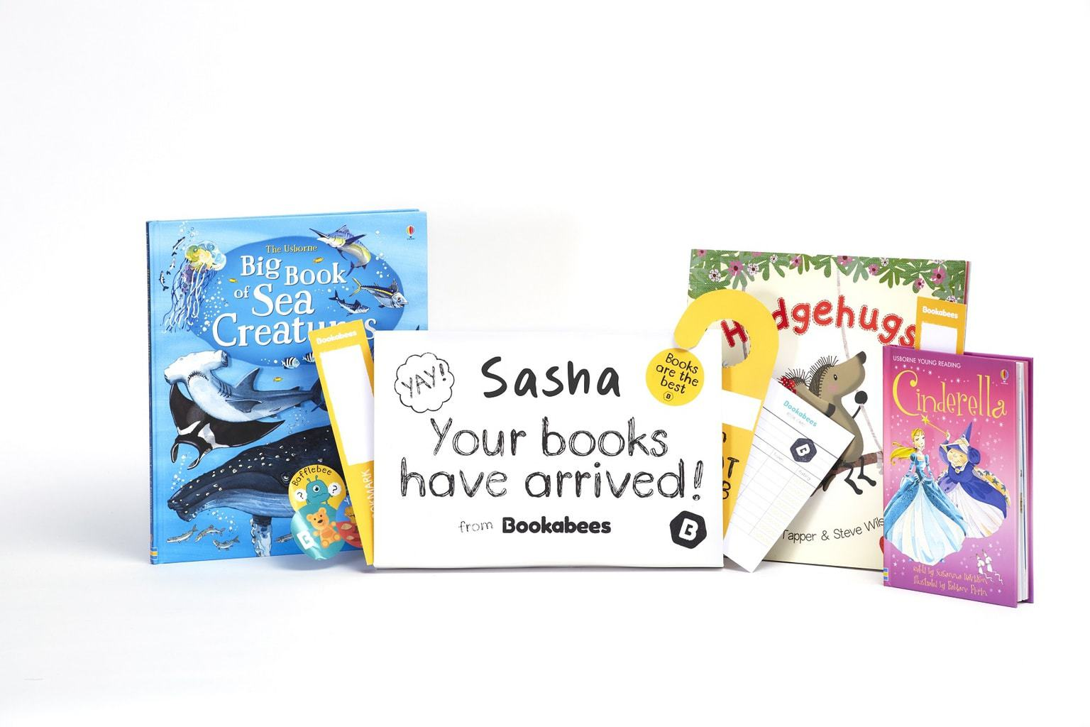 Bookabees - Wonderful Books delivered every month www.minitravellers.co.uk