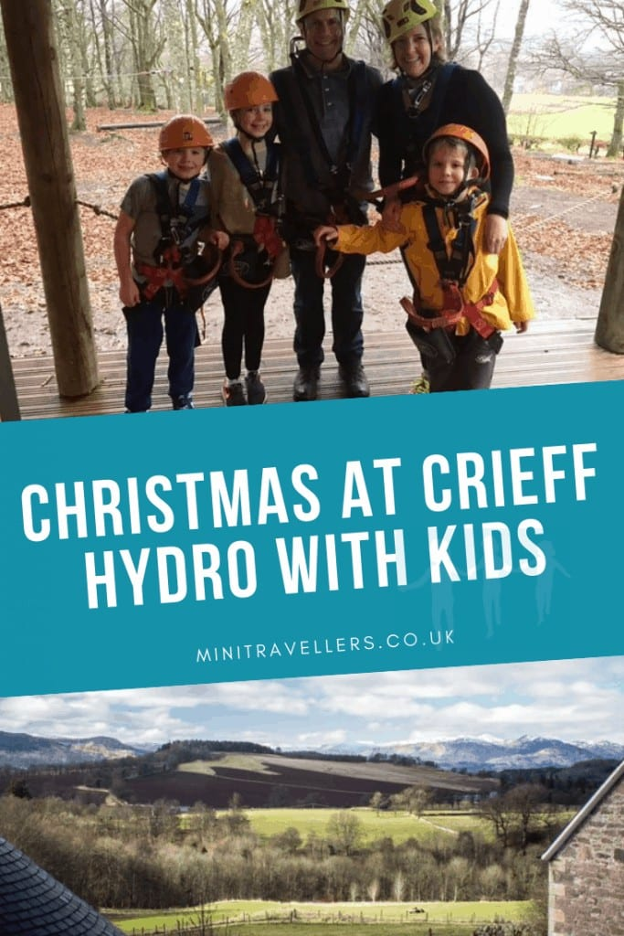 Christmas At Crieff Hydro With Kids