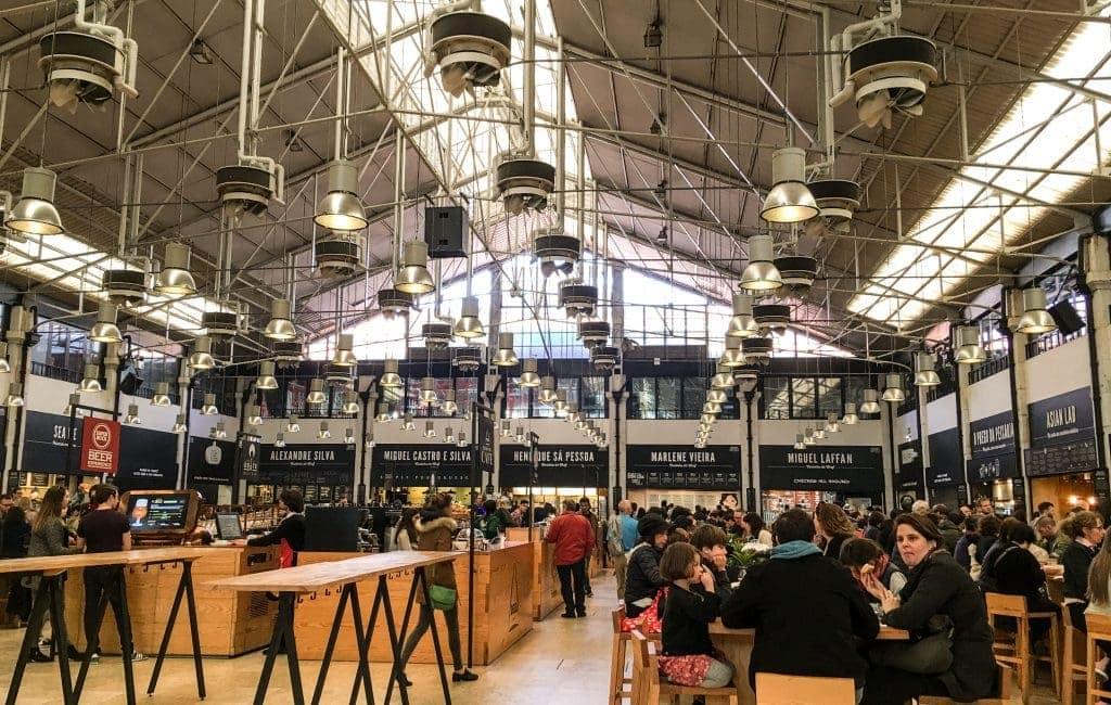 Time Out Market Lisbon www.minitravellers.co.uk