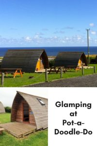 Pot-a-Doodle-Do, Northumberland – Glamping pin www.minitravellers.co.uk
