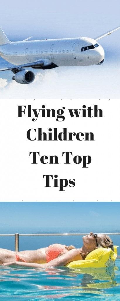 Flying with Children - Ten Top Tips www.minitravellers.co.uk