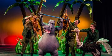 Walliams's Wacky Hippos Lift Off the Page and Onto the Stage | Review www.minitravellers.co.uk