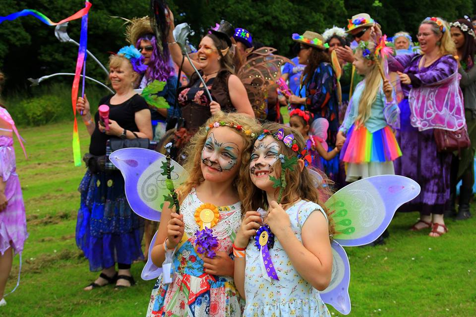 3 Wishes Fairy Festival - Children dressed as fairies. As featured in my Family Festivals for 2018 guide at www.minitravellers.co.uk