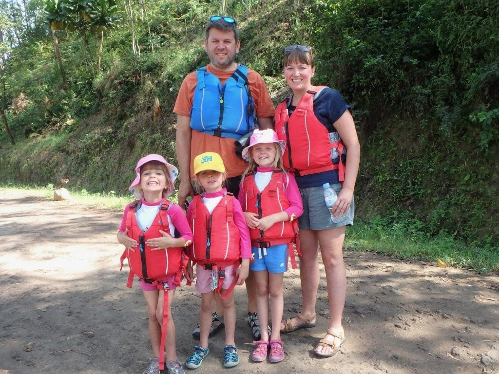 Canoeing with Kingfisher Journeys www.minitravellers.co.uk