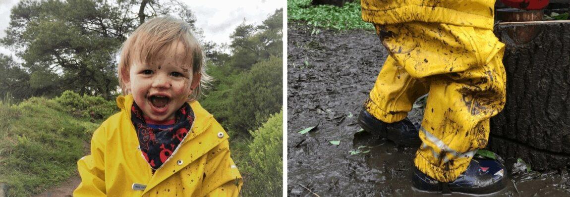 Review - Mikk-line Waterproof Suit for Adventure Togs www.minitravellers.co.uk
