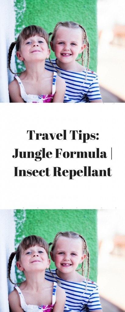 Travel Tips- Jungle Formula - Insect Repellent www.minitravellers.co.uk