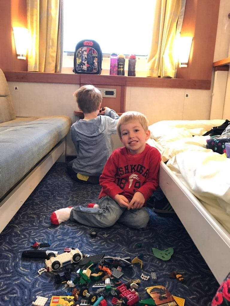 Travelling to France with Brittany Ferries www.minitravellers.co.uk