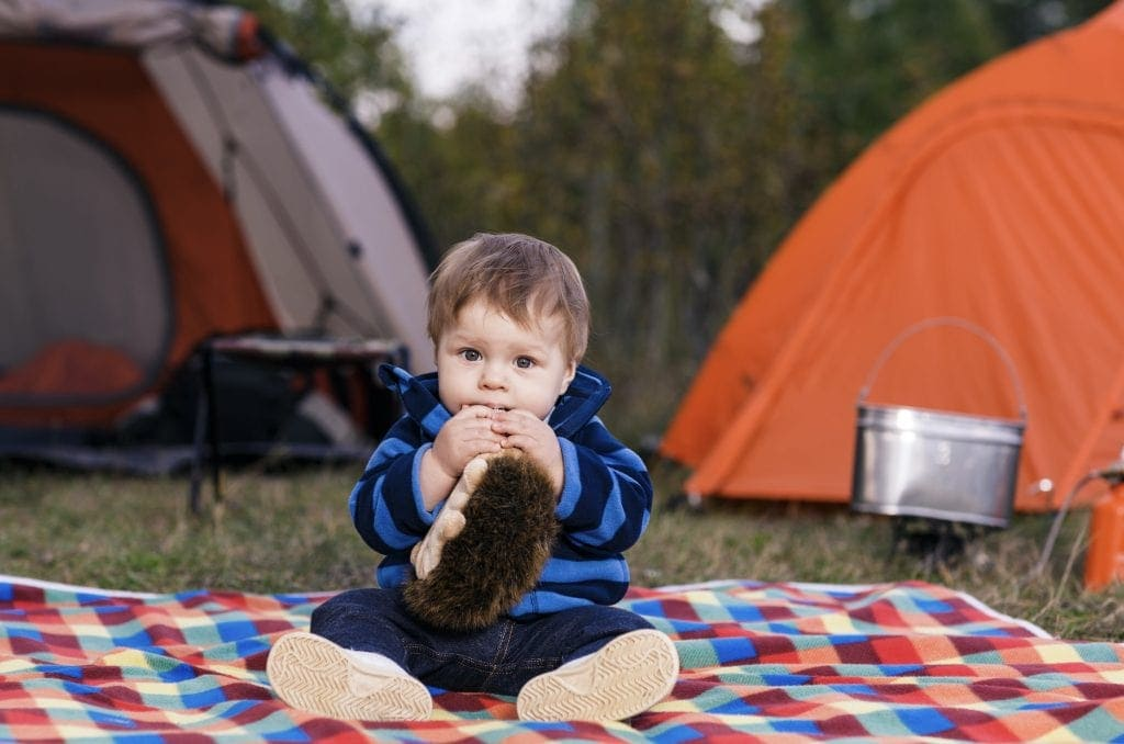 Top Tips for Camping with a Baby