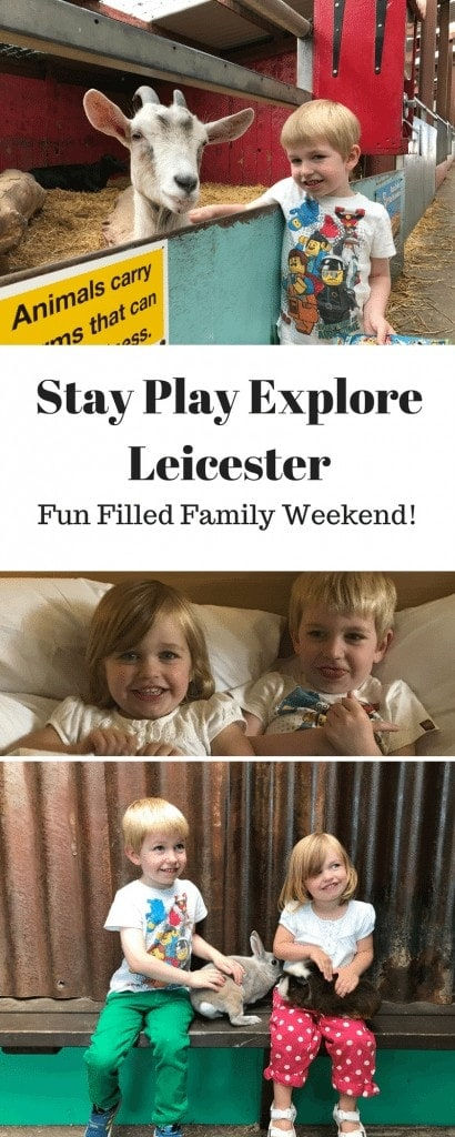 Stay Play Explore Leicester | Weekend Away with the Kids www.minitravellers.co.uk