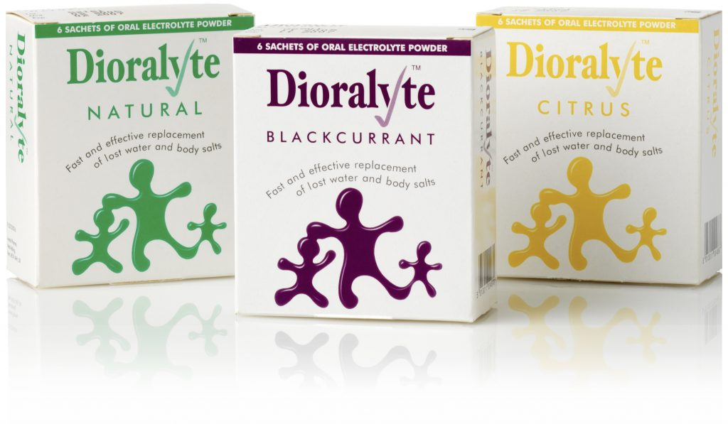 Boxes of Dioralyte - something that I always pack in my medical bag when travelling