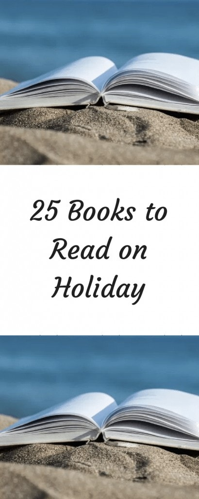 25 Books to Read on Holiday www.minitravellers.co.uk