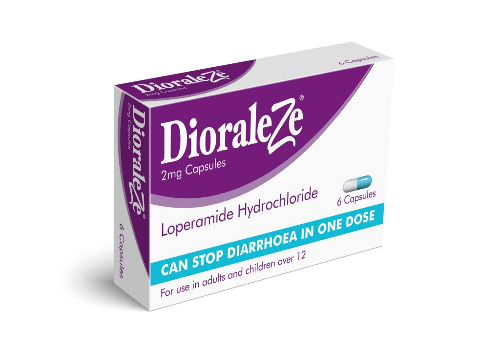 DioraleZe capsules, from the makers of Dioralyte - as featured in my travel tips